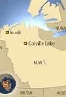 Colville Lake dans les TNO