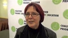 La présidente de la Fédération québécoise des directions d'établissements d'enseignement, Lorraine Normand-Charbonneau