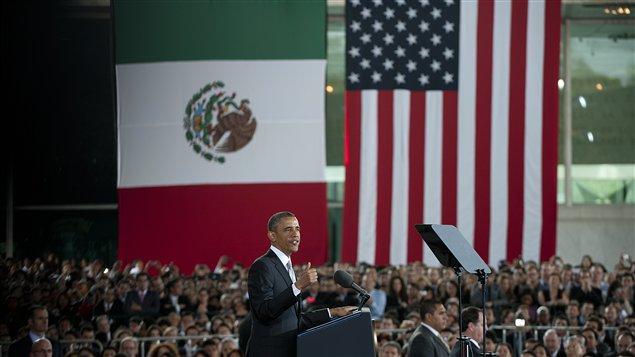 Discours du président Obama devant des jeunes au Musée d'anthropologie de Mexico, le 3 mai