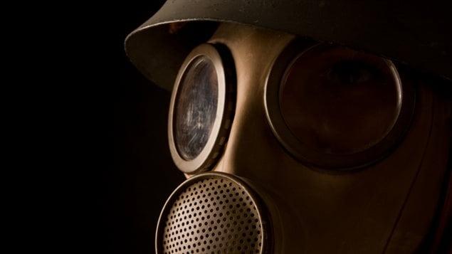 Un masque protecteur contre les armes chimiques