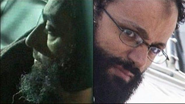 Raed Jaser, à droite, et Chiheb Esseghaier sont accusés d'avoir projeté un attentat contre un train de Via Rail.