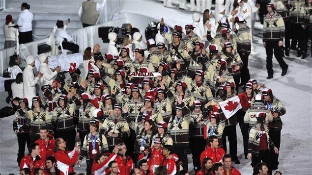 Les athlètes canadiens aux Jeux olympiques de Vancouver en 2010