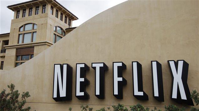 Façade extérieure de Netflix à Los Gatos en Californie