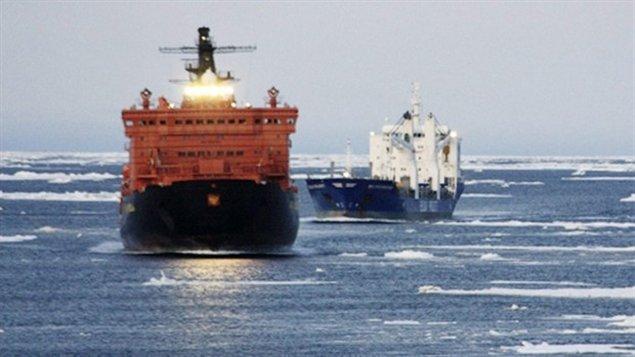 Navigation en Arctique