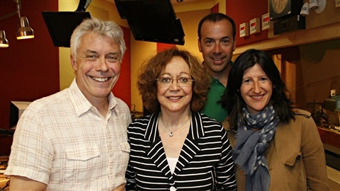 Yves Dsautels, Pauline Martin, Pierre Brassard, Olivia Lvy | Radio-Canada