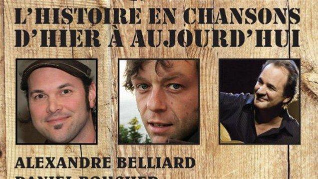 Une partie de l'affiche du spectacle « La légende d'un peuple », d'Alexandre Béliard