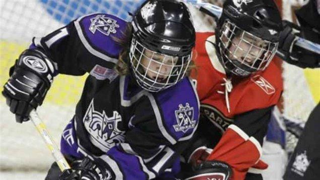 Jeunes joueur de hockey