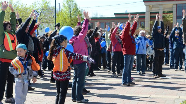 La Marche de la Mémoire de la Société d'Alzheimer à Rouyn-Noranda