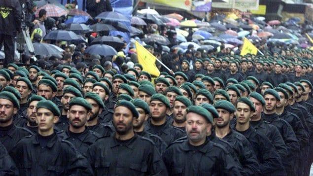 Combatientes de Hezbolá