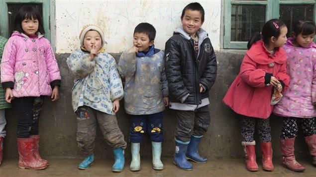 Des enfants en Chine