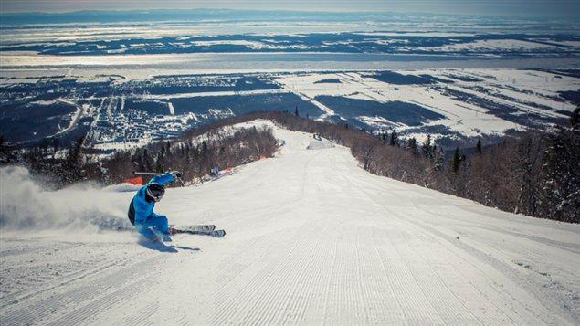 Ski au Mont-Sainte-Anne