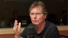 Le comédien Marc Messier. <i>Photo : Radio-Canada/Olivier Lalande</i>
