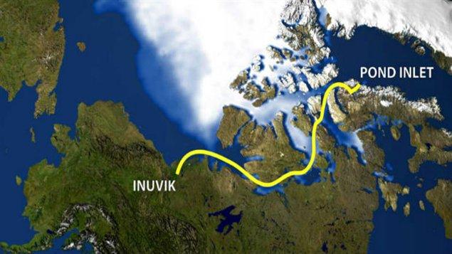 D'Inuvik à Pond Inlet - trois mois à la rame