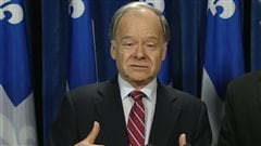 Raymond Bachand, porte-parole de l'opposition officielle en matière de finances