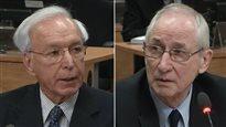 Marc Gendron et Roger Desbois