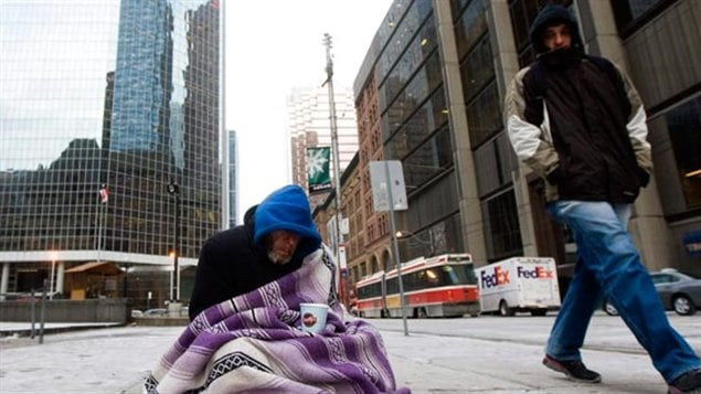 Each year, more than 235,000 people are homeless in Canada yet social spending has declined, says Canada Without Poverty.