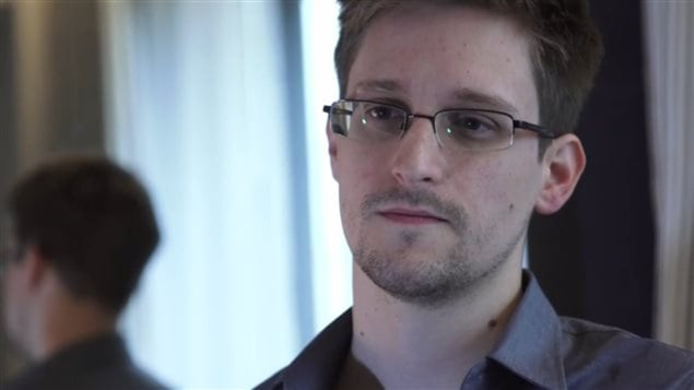 Edward Snowden, l'ancien technicien de la CIA qui a r�v�l� l'existence d'un programme de surveillance hautement confidentiel au journal The Guardian