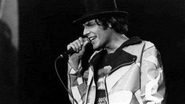 Jean Leloup lors des FrancoFolies de Montréal en 1990.