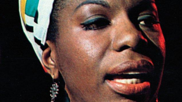 Une partie de la couverture de Nina Simone, roman