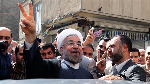 Hassan Rohani, le 14 juin, à Téhéran