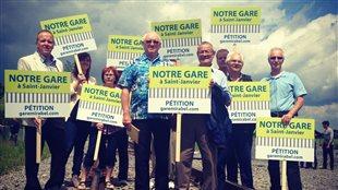 Gare de Mirabel : une pétition pour faire avancer le projet