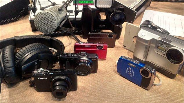 Les appareils photos