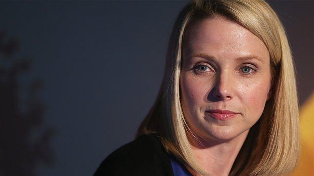 La PDG de Yahoo, Marissa Mayer