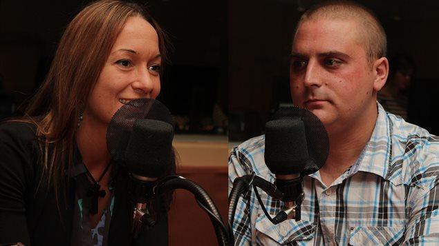 Marie-�ve Morin et Jean-Philippe Lauret  �Radio-Canada/Marie-Sandrine Auger