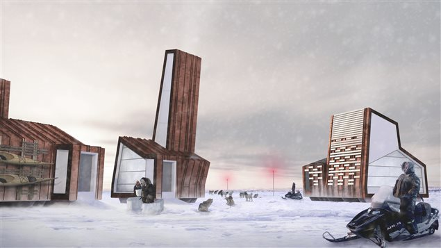 Structure de l' Arctic Food Network  ©Lateral Office, 2012