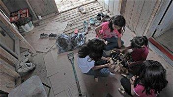 Enfants amérindiens