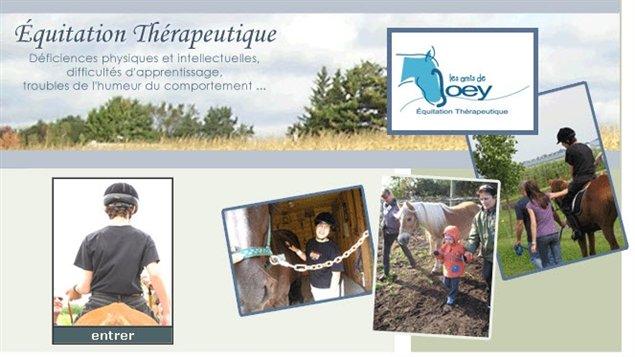 Les amis de Joey, équitation thérapeutique