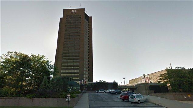 La tour de Radio-Canada à Montréal