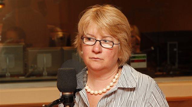 Johanne Tassé, fondatrice et directrice générale des Centres d'adoption d'animaux de compagnie du Québec. ©Radio-Canada/Sophie Laforest