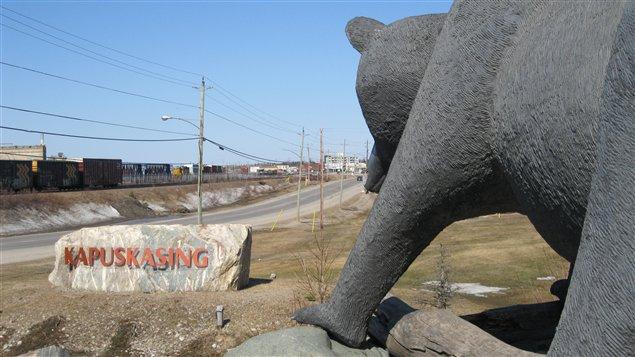 Kapuskasing dans le nord de l'Ontario
