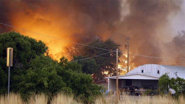 Image d'illustration pour Arizona : Incendie très meurtrier (19 pompiers décédés)