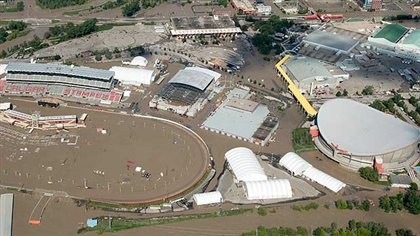 Calgary Stampede Flood Damage Repaired The Spectacular
