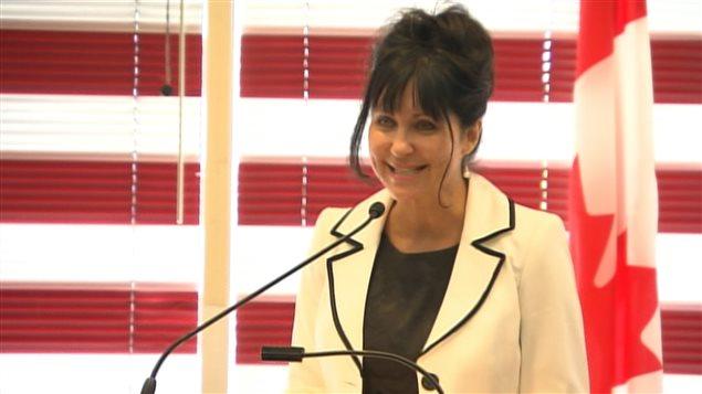 Martine Beaugrand, nouvelle mairesse intérimaire de Laval