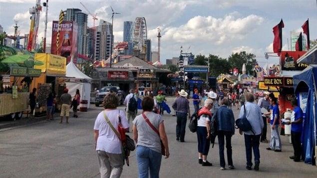 La veille du Stampede de Calgary, le 4 juillet 2013