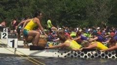Le Festival provincial de bateaux-dragons de Shawinigan
