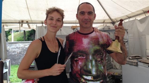 Julie Grenier et son conjoint Stéphane Ouellet sont boulangers et nomades.
