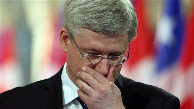 un t difficile pour le premier ministre stephen harper