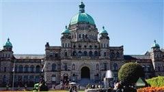 Le Parlement de la Colombie-Britannique à Victoria