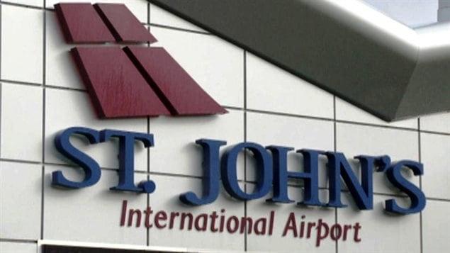 L'aéroport international de Saint-Jean, à Terre-Neuve