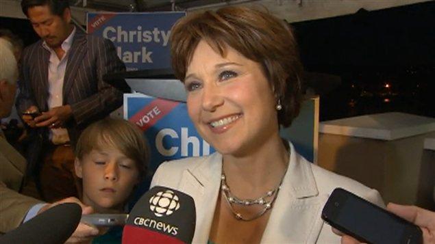La première ministre Christy Clark.