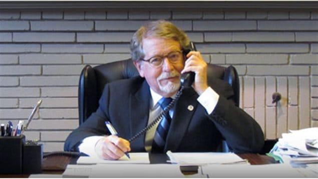 Le maire de la municipalité de Hampstead, Bill Steinberg.
