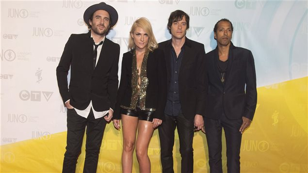 Le groupe Metric