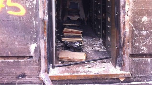 Lac m gantic des milliers d 39 actes notari s ont t for Chambre de notaires quebec