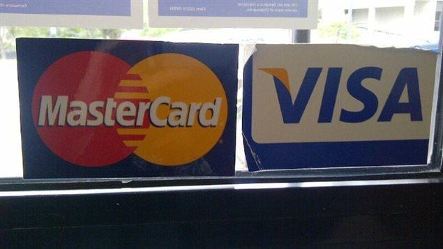 MasterCard et Visa