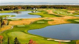 Des champions de golf à Québec
