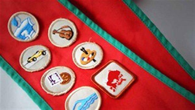 Badges des Scouts